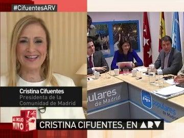 Cristina Cifuentes en ARV