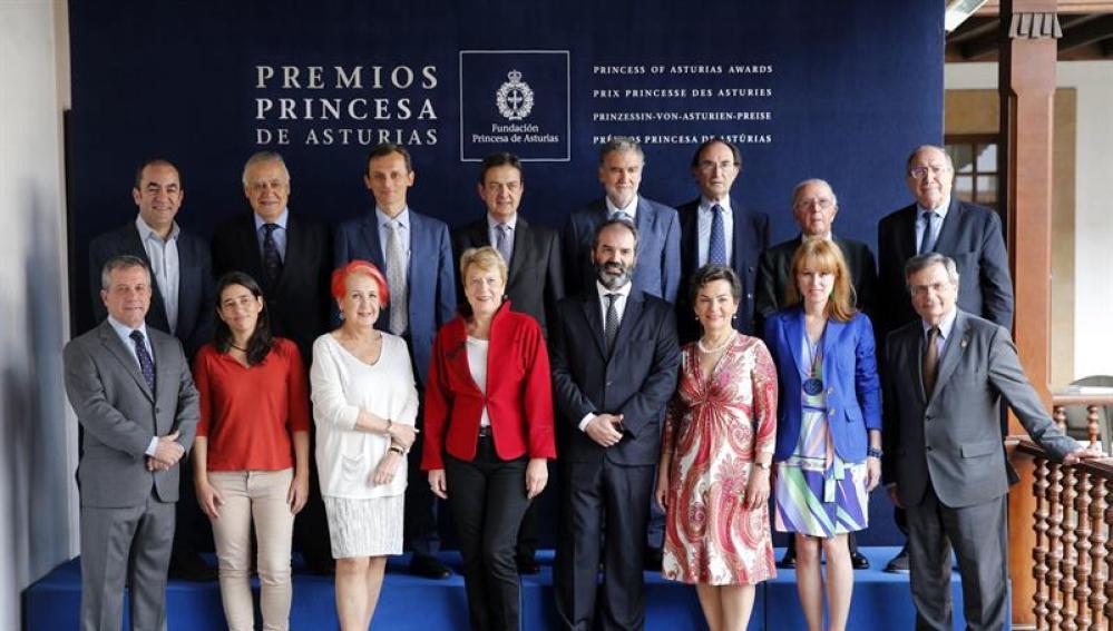 El jurado del Premio Princesa de Asturias de Cooperación Internacional 2017