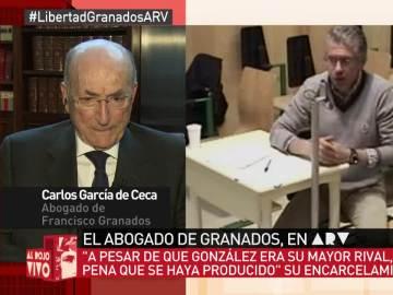 García de Ceca, abogado de Granados