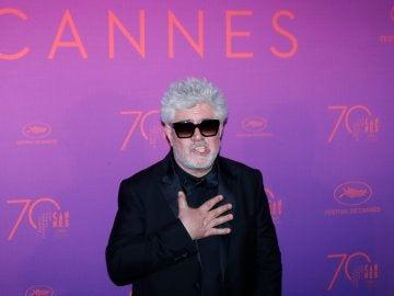 Pedro Almodóvar, director de cine, en el Festival de Cannes
