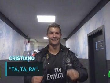 """Frame 46.121052 de: Así celebró el Real Madrid la victoria en el vestuario de Balaídos: """"¡Vamos, un pasito más!"""""""