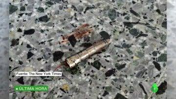 Frame 1.870236 de: Se filtran las primeras imágenes de la bomba utilizada en el atentado terrorista en Mánchester