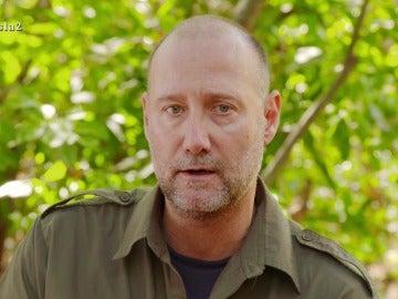 Pedro García Aguado en La Isla