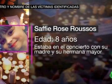 Saffie Rose Rousses, víctima del atentado en Mánchester