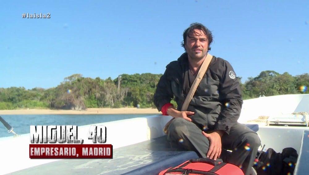Miguel abandona La Isla