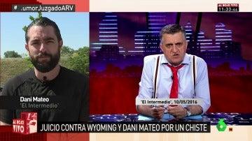 Dani Mateo, en Al Rojo Vivo