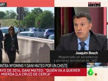 Joaquim Boschc, en Al Rojo Vivo