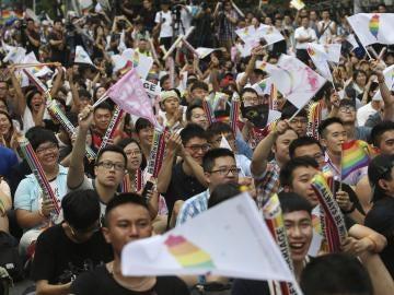 Legalización matrimonio homosexual Taiwán