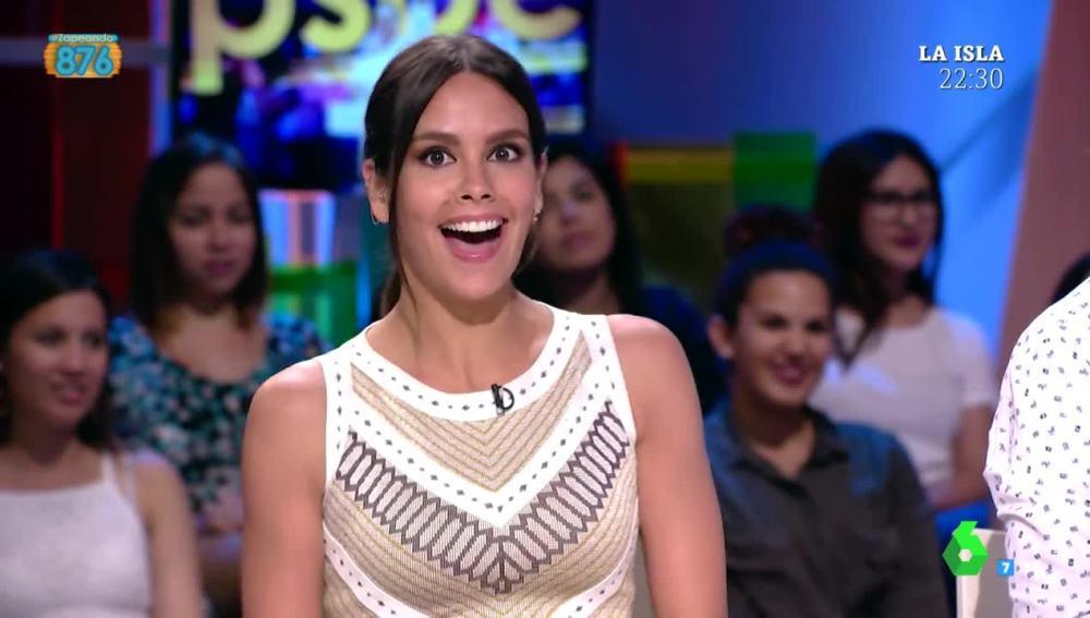 Cristina Pedroche, sorprendida por su 'fichaje' en Al Rojo Vivo