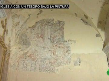 Pinturas barrocas en la iglesia de Butsènit d'Urgell, en Lleida
