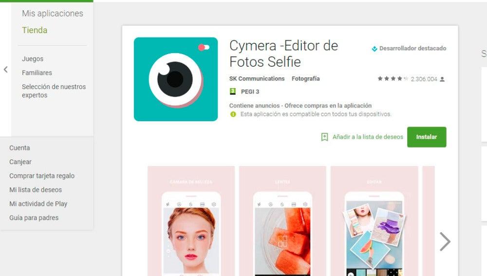 app editor de fotos adelgazar