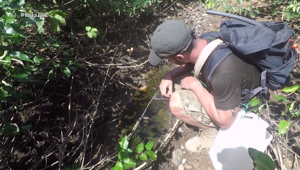 Deshidratación en La Isla