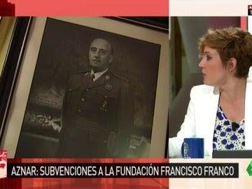 Cristina Pardo habla de la Fundación Franco