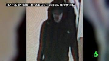 Imagen del terrorista antes de atentar