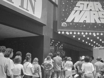 Día del estreno de Star Wars
