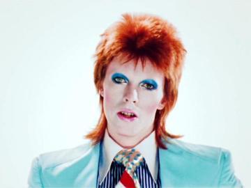 David Bowie en su disco 'Ziggy Stardust'