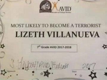 Diploma 'el más propenso a convertirse en terrorista'