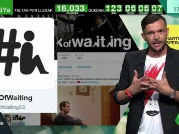SickOfWaiting, una campaña en apoyo a los refugiados