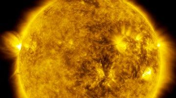 La NASA capta un eclipse solar desde el espacio