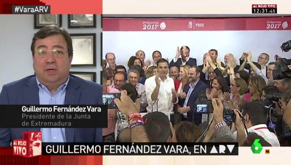 Fernández Vara en Al Rojo Vivo