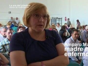 Amparo Martín, madre de un niño enfermo
