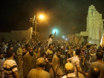 Protestas tras el atentado en Egipto