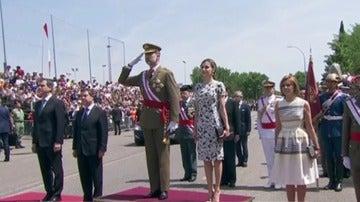 Los reyes presiden el Día de las Fuerzas Armadas
