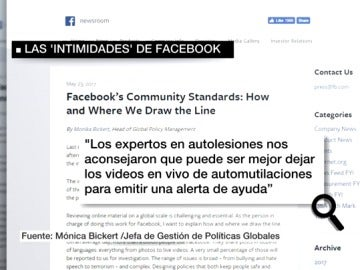 Captura de parte del manual interno de Facebook filtrado