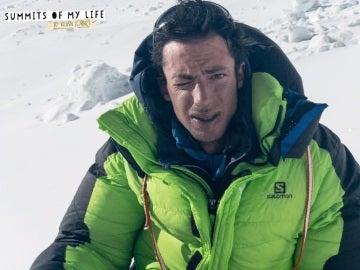 Kilian Jornet, en su ascenso al Everest