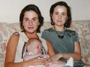 Beatriz Garrote junto a su hermana Maika