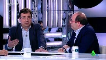 Guillermo Fernández Vara y Miquel Iceta
