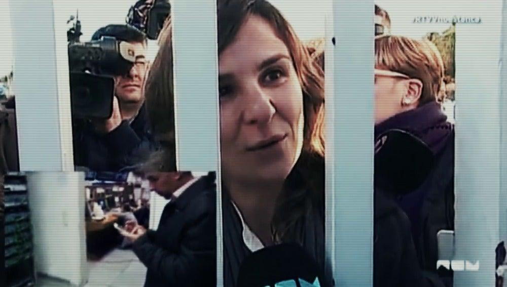 Beatriz Garrote a las puertas de Canal 9