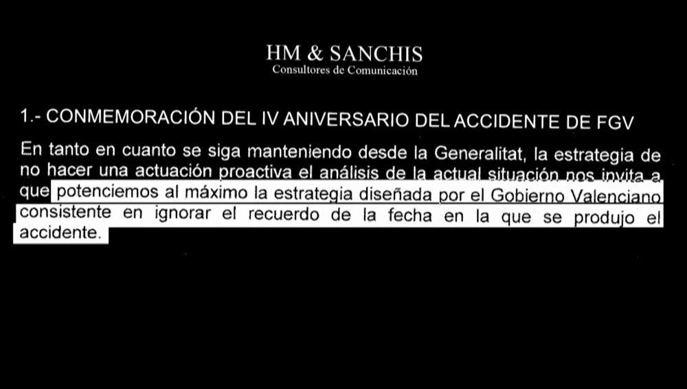 Documento de HM & Sanchis