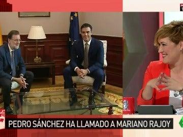 """Frame 43.050168 de: Pedro Sánchez llama a Rajoy una semana después de que éste le mandara un SMS preguntándole: """"¿Tienes un minuto?"""""""