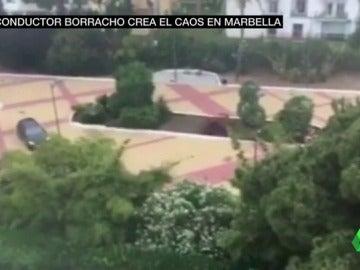 Un conductor ebrio hiere al menos a seis personas tras saltarse un control policial en Marbella