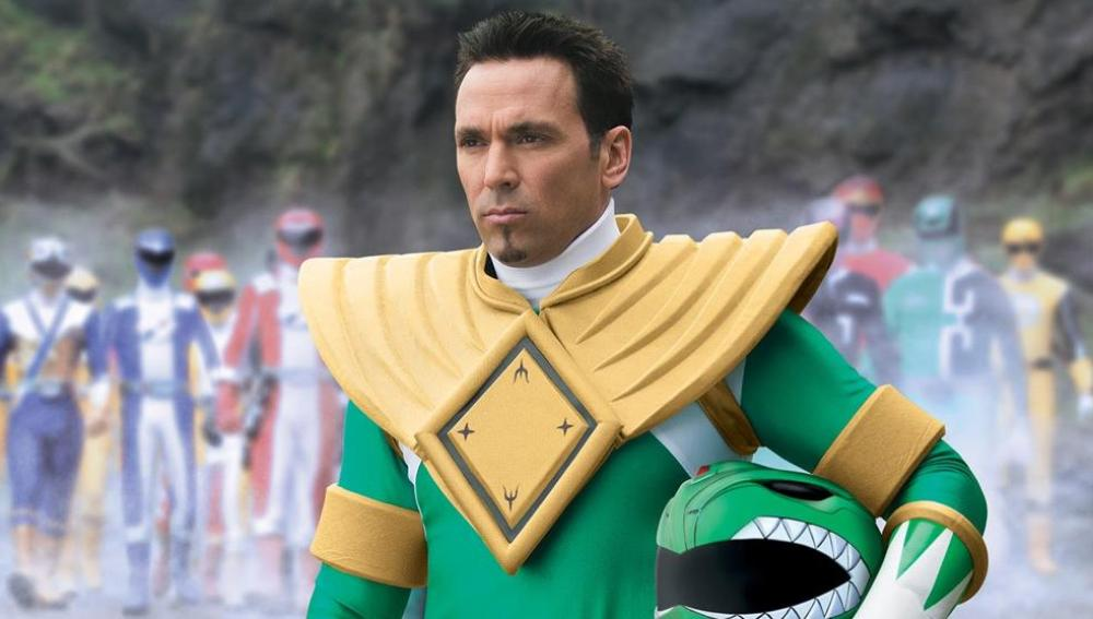 Jason David Frank como Power Ranger Verde