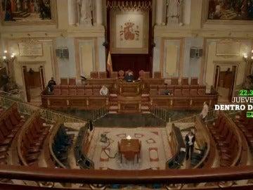 """Frame 11.872 de: """"Oímos pero no escuchamos, es una de las normas de la casa"""": Dentro De, en el Congreso de los Diputados"""