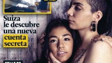 Jimena y Shaza en la portada de Interviú