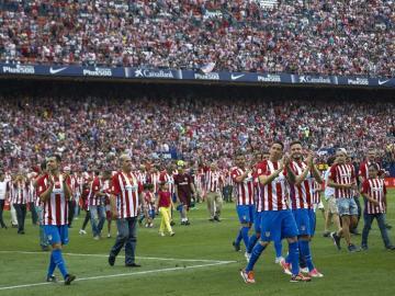 Último partido en el Vicente Calderón