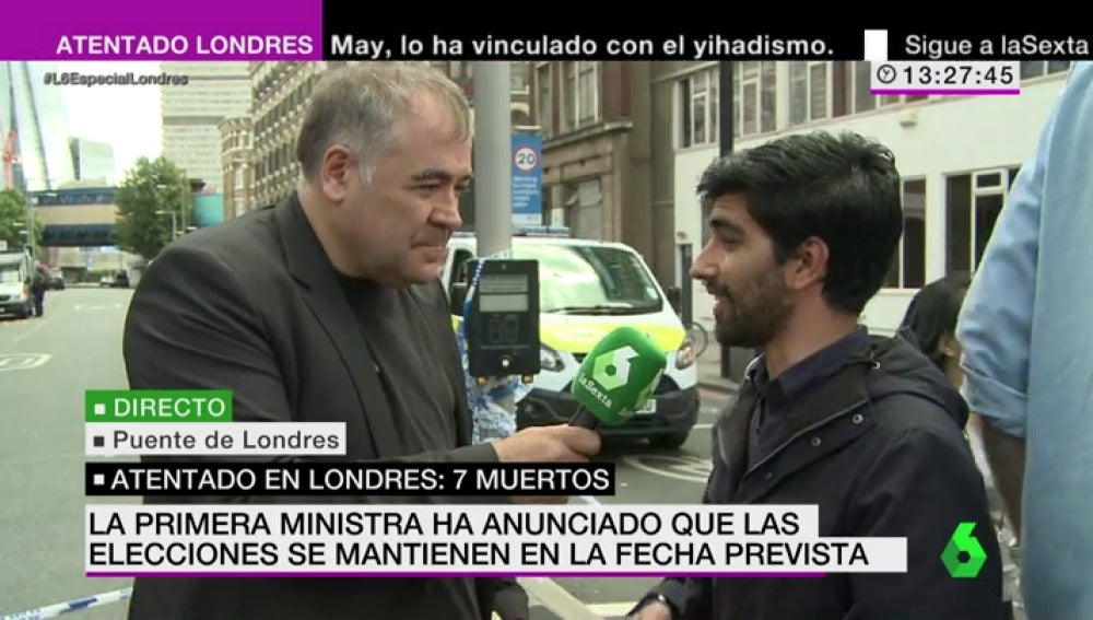 Juan Carlos Vélez analiza la situación de Londres