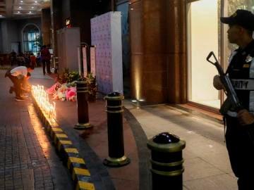 Lugar del ataque en Manila