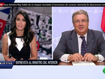 """Frame 3.391575 de: Juan Ignacio Zoido: """"Los terroristas no nos van a doblegar. Conseguimos todos la libertad y el Estado de Derecho"""""""