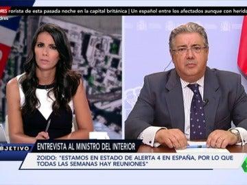 """Frame 13.150097 de: Juan Ignacio Zoido: """"No hay especial circunstancia para elevar el estado de alerta terrorista en España al máximo"""""""