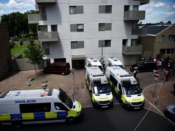 Redada en Barking tras el doble atentado de Londres