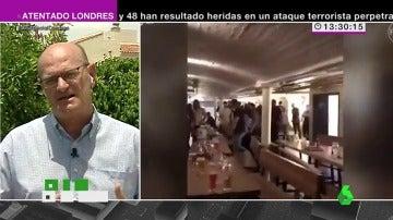"""Frame 6.212294 de: José María Gil: """"Los yihadistas utilizan las muestras de pánico en los vídeos para decir que nos van a dominar"""""""