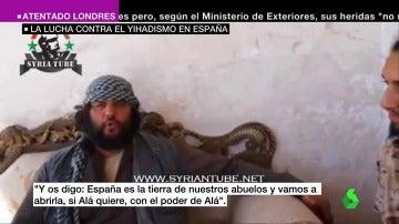 Frame 9.261585 de: Vídeos amenazantes, fotografías de monumentos, reclutamiento yihadista... España, en el punto de mira de Daesh