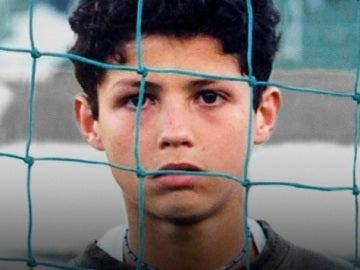 Cristiano, de niño en la promoción de Nike