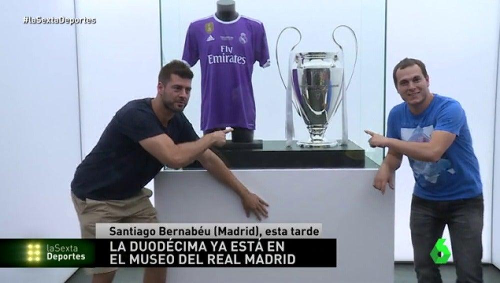 Museo Real Madrid.La Duodecima Ya Esta En El Museo Del Bernabeu Es Lo Mas Bonito Que