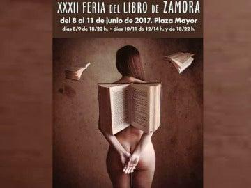 El polémico cartel de la Feria del Libro de Zamora