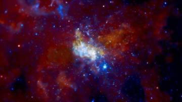 Sagitario A* es una potente fuente de radiación situada en el centro de nuestra galaxia